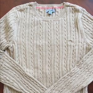 Izod Crew Cable Knit Sweater